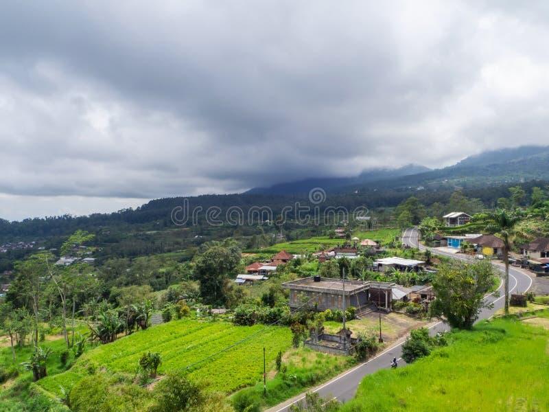 Beau paysage en Indon?sie photographie stock libre de droits