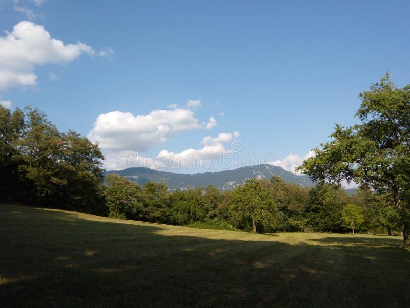 Beau paysage en Slovénie image libre de droits
