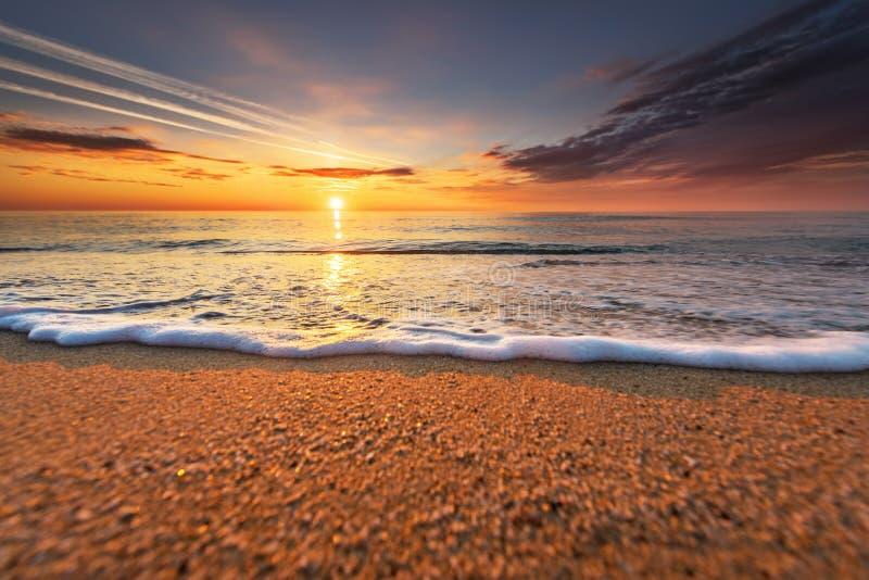 Beau paysage marin Composition de nature Ciel bleu ! photo libre de droits