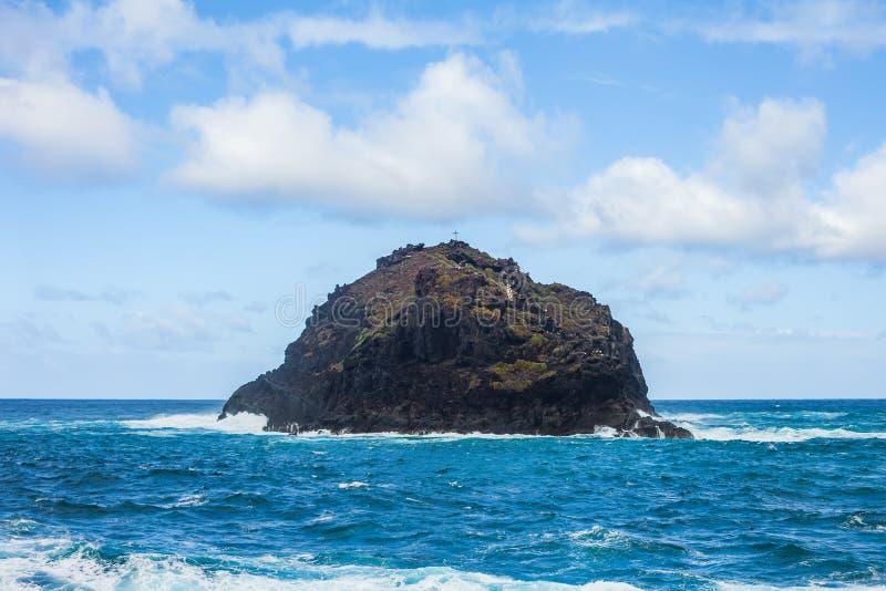 Beau paysage marin de Roque de Garachico, Ténérife, canari islan photo libre de droits