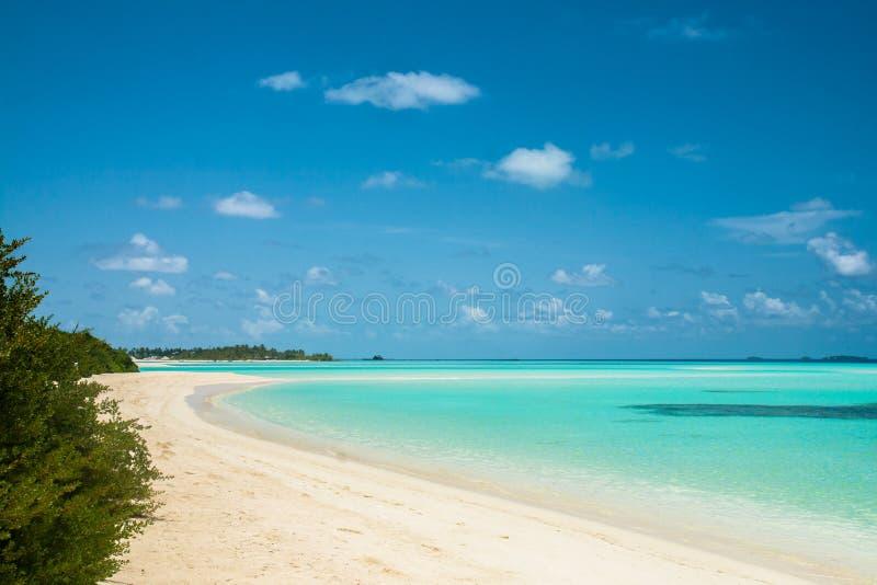 Beau paysage tropical images libres de droits