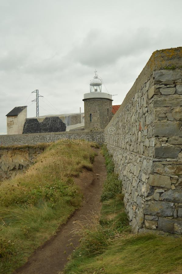 Beau phare chez Cape De Vidio photos stock