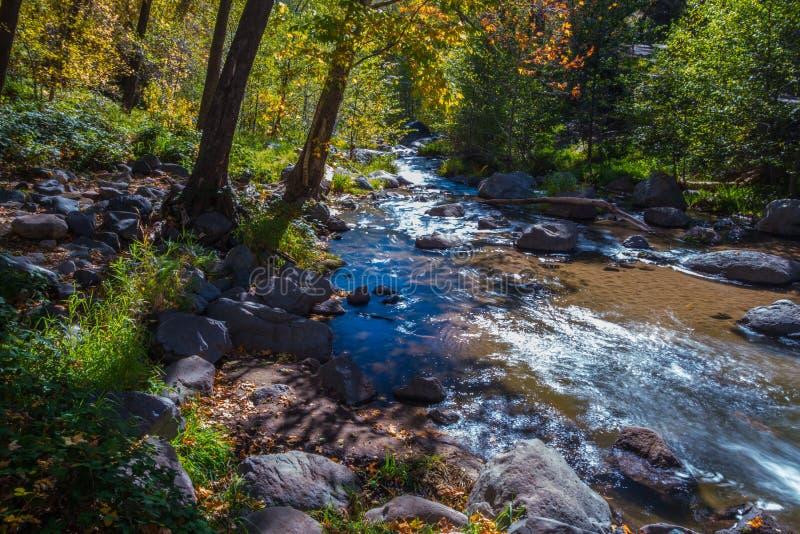 Beau Sedona Arizona sur Sunny Autumn Day images stock