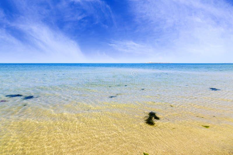 Beau Serena Beach, Mandvi, Goudjerate images stock