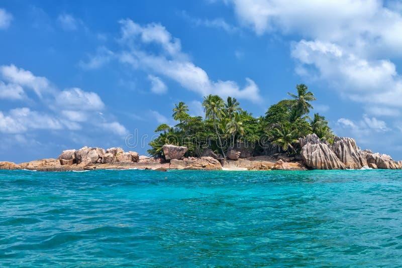 Beau St tropical Pierre Island, Seychelles photo libre de droits