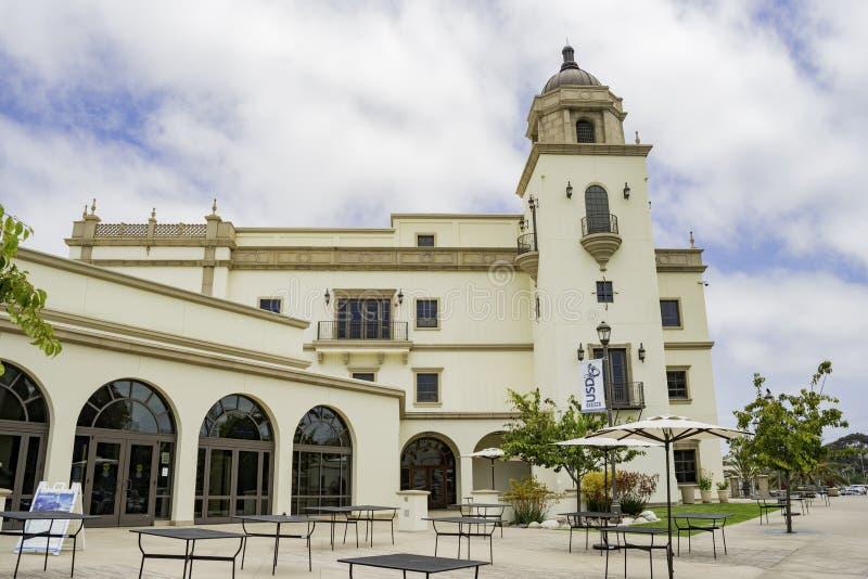 Beau stock de toréador d'université de San Diego photo stock