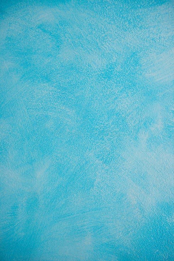 Beau stuc concret de nouveau mur bleu de ciment bannières peintes de conception de surface de ciment Gradient, consistant, concep image libre de droits