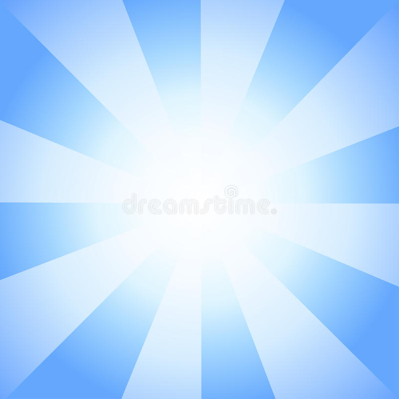 Beau Sun avec le fond de vintage de télévision de rayons illustration stock