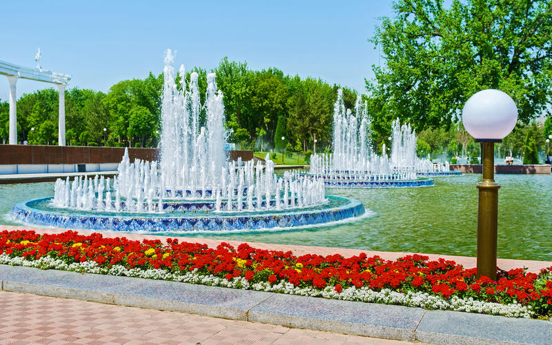 Beau Tashkent photo stock