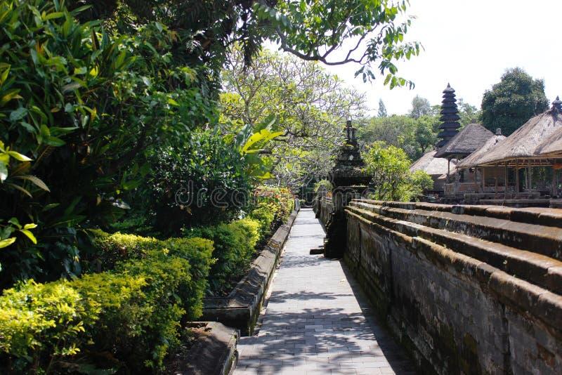 Beau temple de Taman Ayun dans Bali images libres de droits