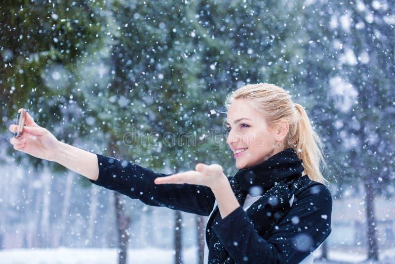 Beau temps d'hiver photographie stock libre de droits