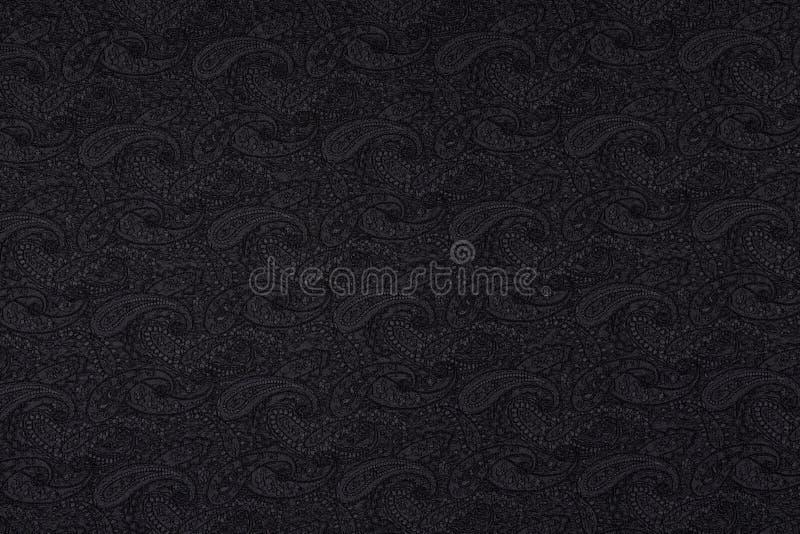 Beau tissu créatif foncé avec le fond de texture de textile images libres de droits