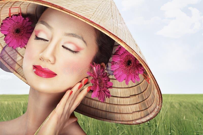 Beau Vietnamien photos stock