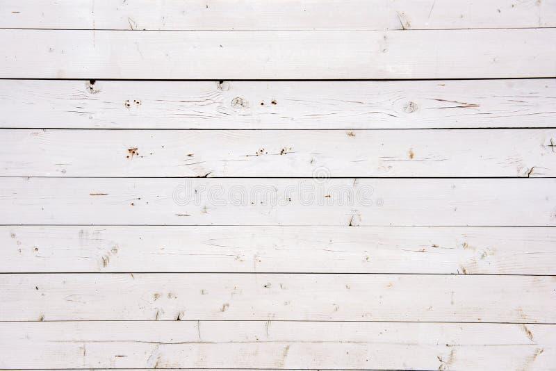 Beau vieux conseil en bois blanc photos libres de droits