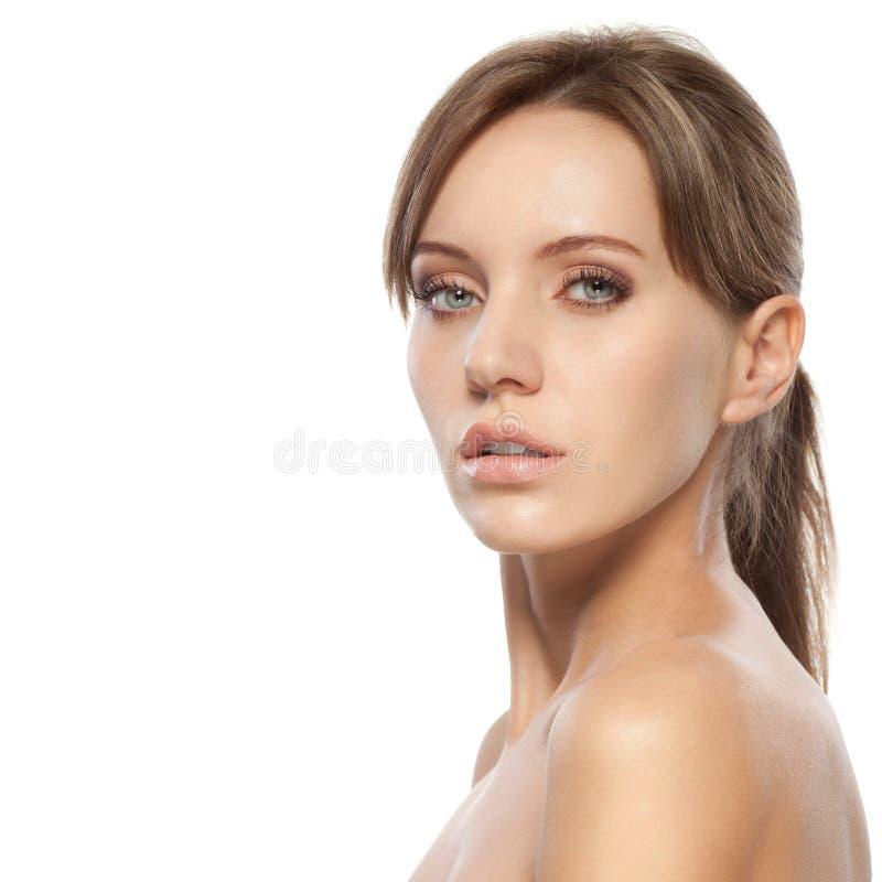 Beau visage de femme photo libre de droits