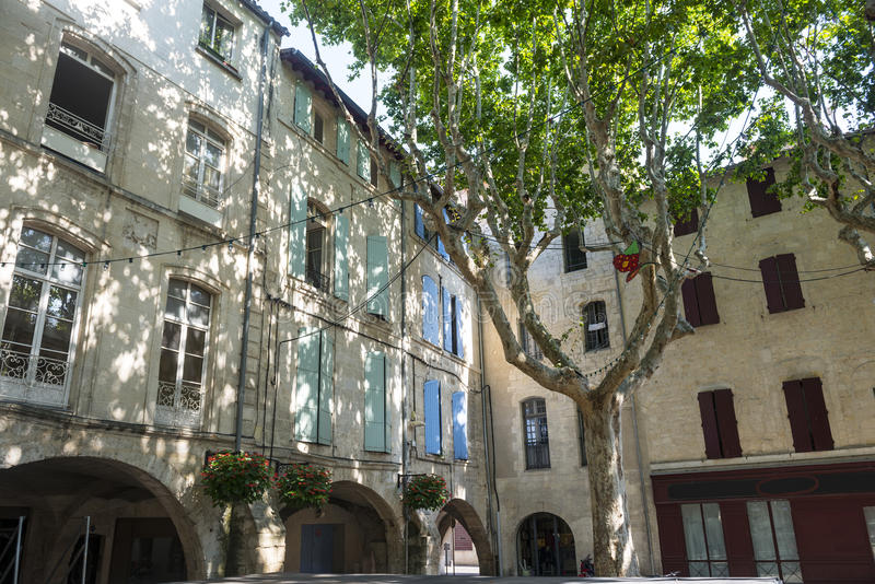 Beaucaire obrazy stock