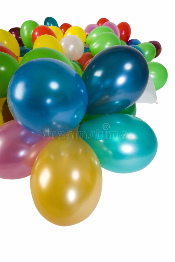 Beaucoup de ballons images stock