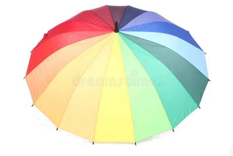 Beaucoup de belles couleurs sur un parapluie photos stock