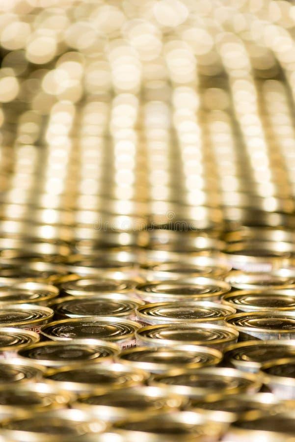 Beaucoup de boîtes d'or image libre de droits