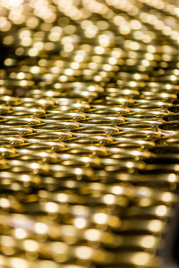 Beaucoup de boîtes d'or photos libres de droits