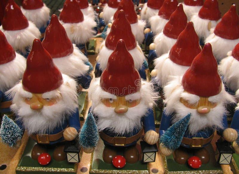 Beaucoup de chiffres de gnome image libre de droits
