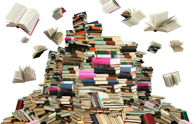 Beaucoup de livres image stock