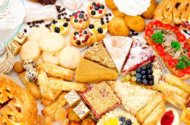 Beaucoup de pâtisserie photos stock