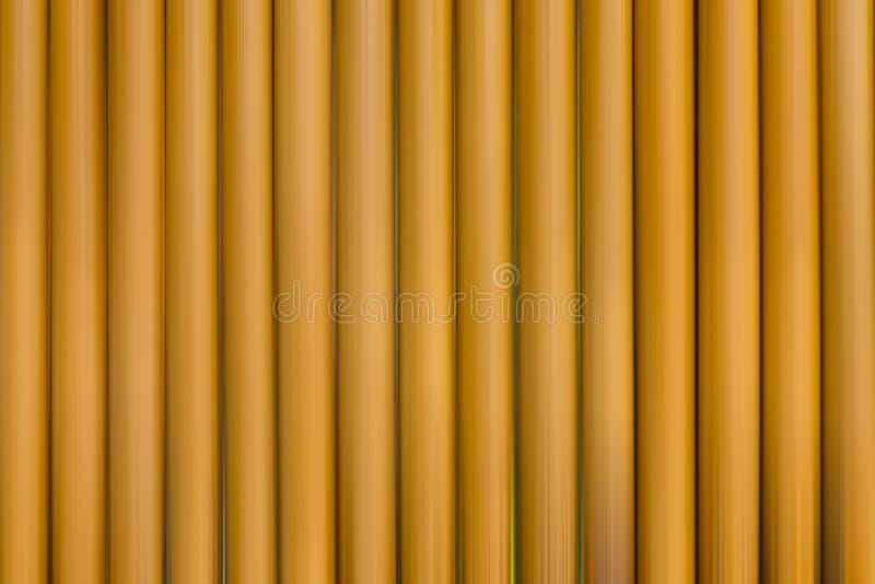 Beaucoup de pailles brunes sont des rangées photo libre de droits