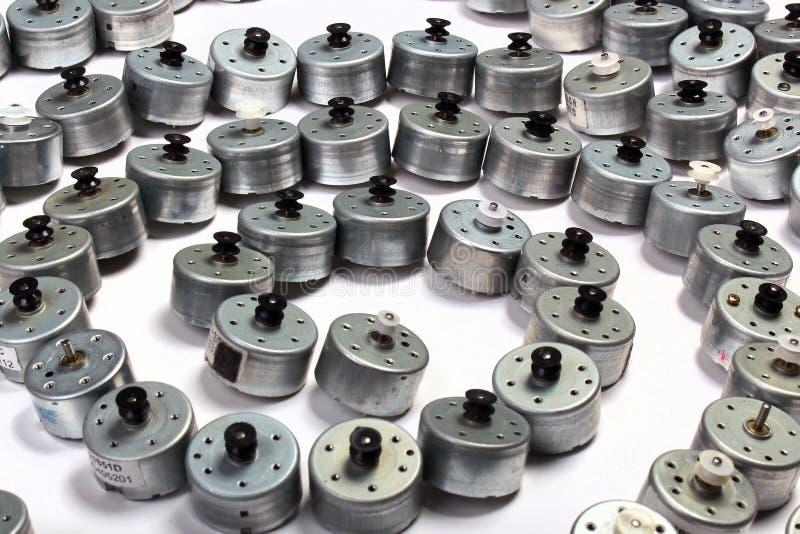 Beaucoup de petits moteurs électriques photos libres de droits