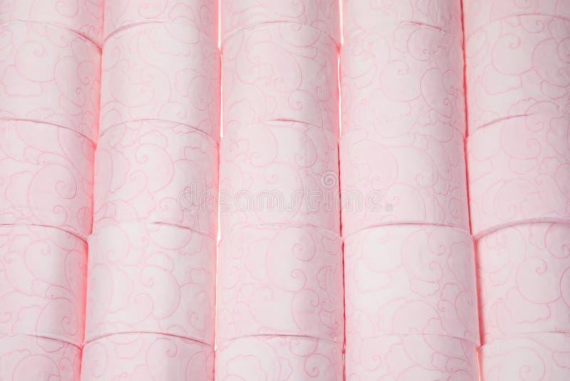 Beaucoup de rouleaux de papier hygiénique images libres de droits
