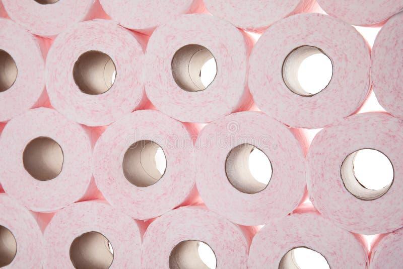 Beaucoup de rouleaux de papier hygiénique photo libre de droits