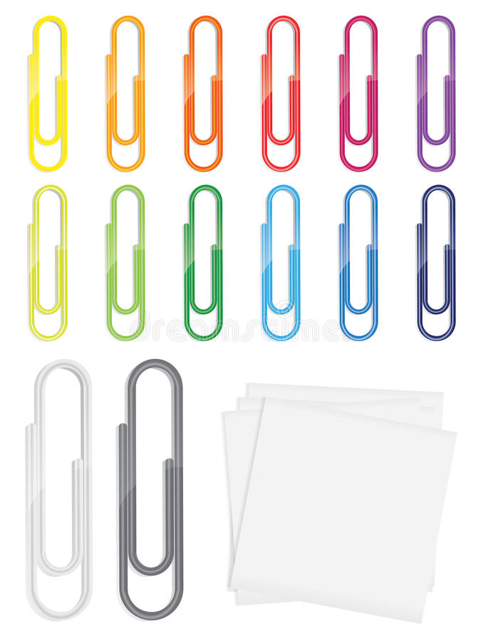 Beaucoup de trombones lustrés détaillés dans diverses couleurs photos libres de droits