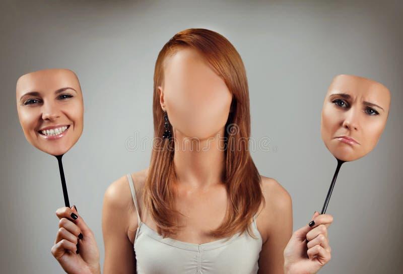 Beaucoup de visages 2 photos libres de droits