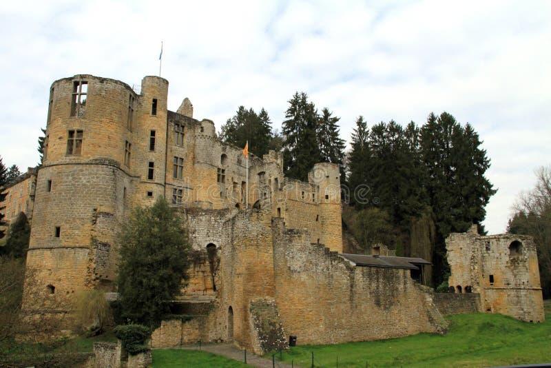 Beaufort城堡 库存照片