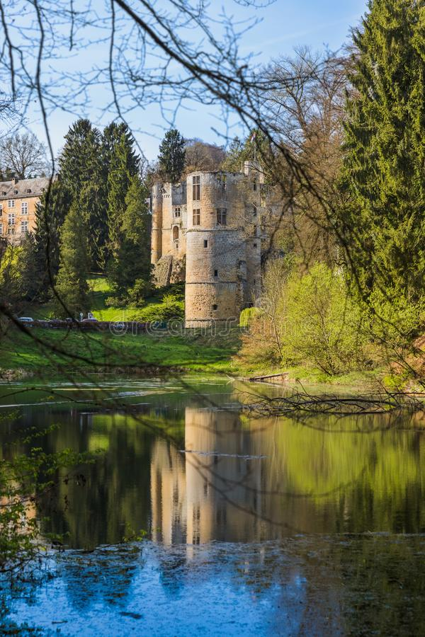 Free Beaufort Castle Ruins In Luxembourg Stock Photo - 115307680