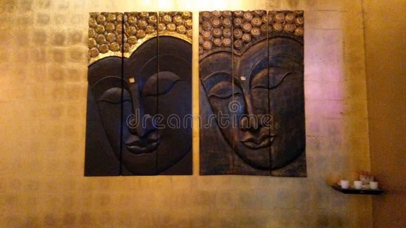 Beaufsichtigung von buddhas stockbild