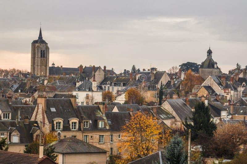 Beaugency, Centre, Loiret obrazy stock