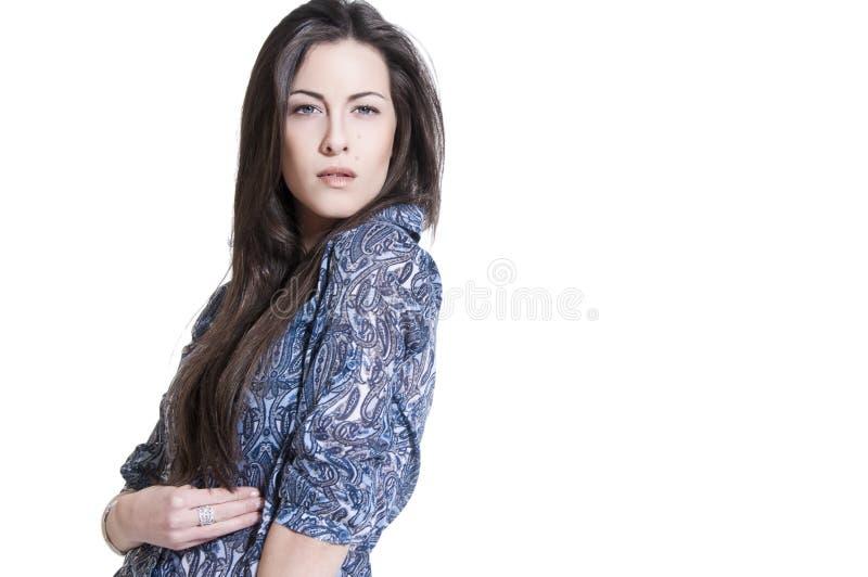 beauiful νεολαίες πορτρέτου brunette στοκ εικόνες με δικαίωμα ελεύθερης χρήσης