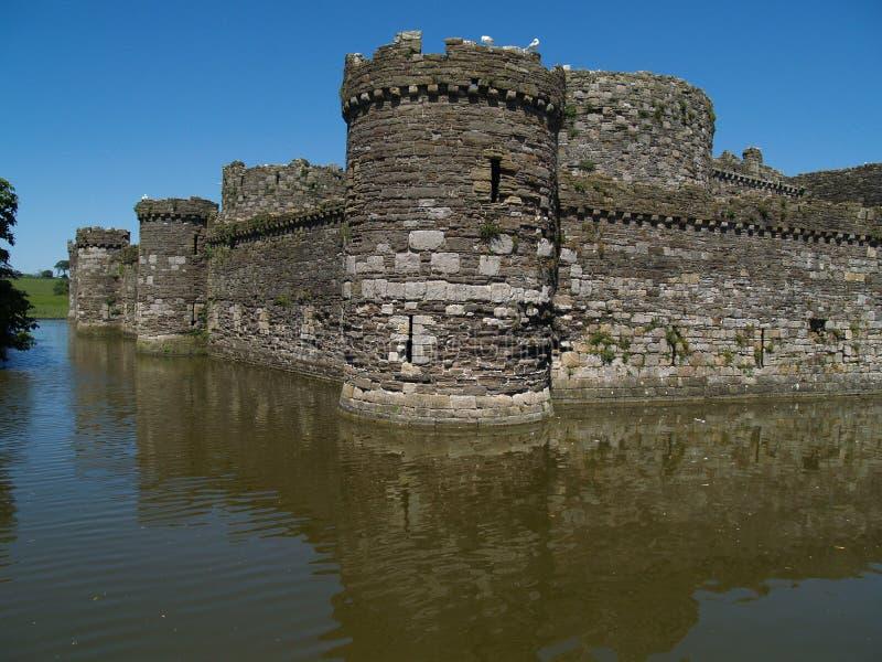 beaumaris城堡 免版税图库摄影