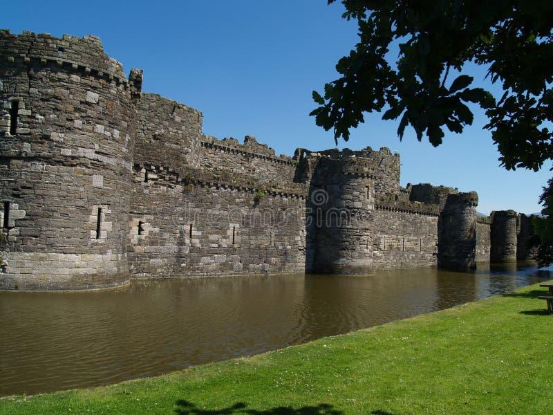 beaumaris城堡 图库摄影