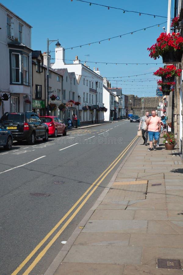 Beaumaris dans Anglesey, Pays de Galles image libre de droits