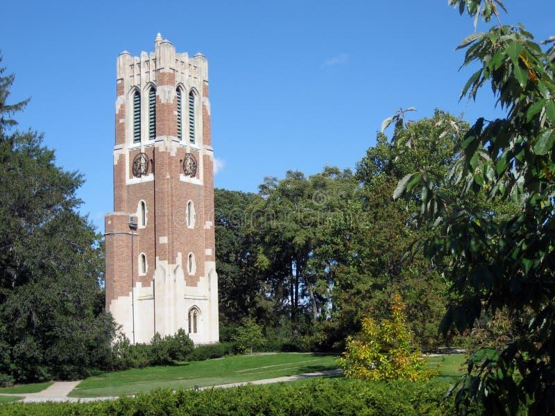 beaumont πύργος msu στοκ φωτογραφία με δικαίωμα ελεύθερης χρήσης