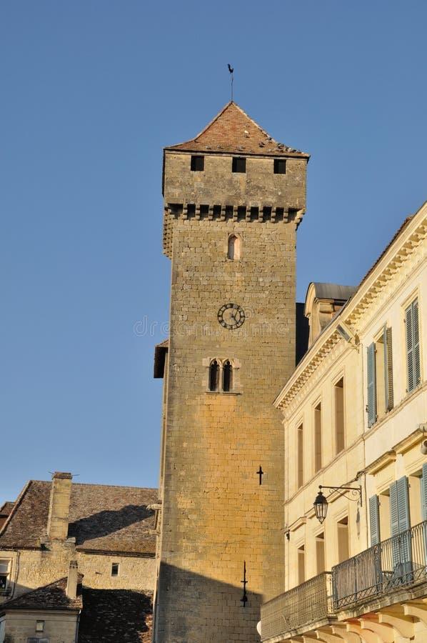 Beaumont-du-Perigord fotografía de archivo libre de regalías