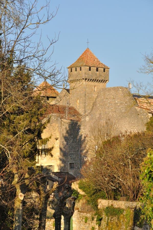 Beaumont-du-Perigord foto de archivo libre de regalías