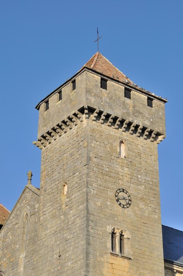 Beaumont-du-Perigord imagen de archivo