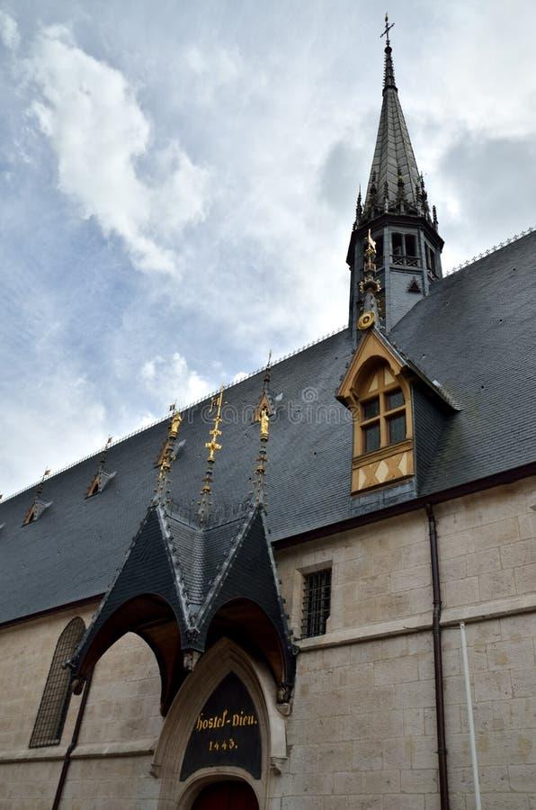 beaune de klosterhärbärge arkivfoton