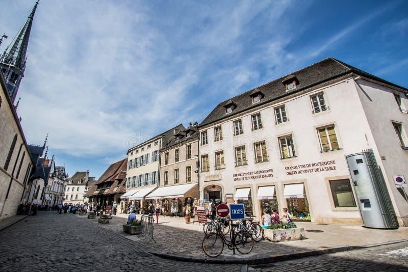 Beaune, França imagens de stock