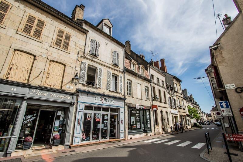 Beaune, França foto de stock