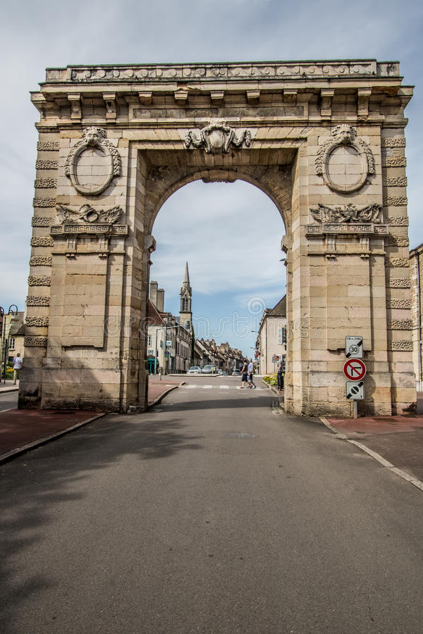 Beaune, França imagem de stock royalty free