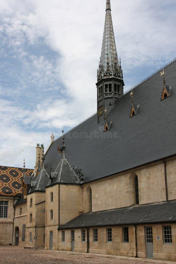 beaune klosterhärbärgar arkivfoton